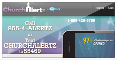 ChurchAlertz Mobile Marketing